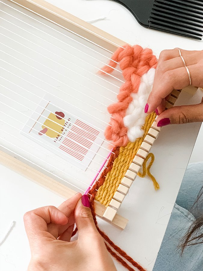 workshop-weaving-Ilary-bottini-lascia la scia